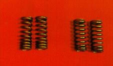Lincoln Zephyr valve springs on right